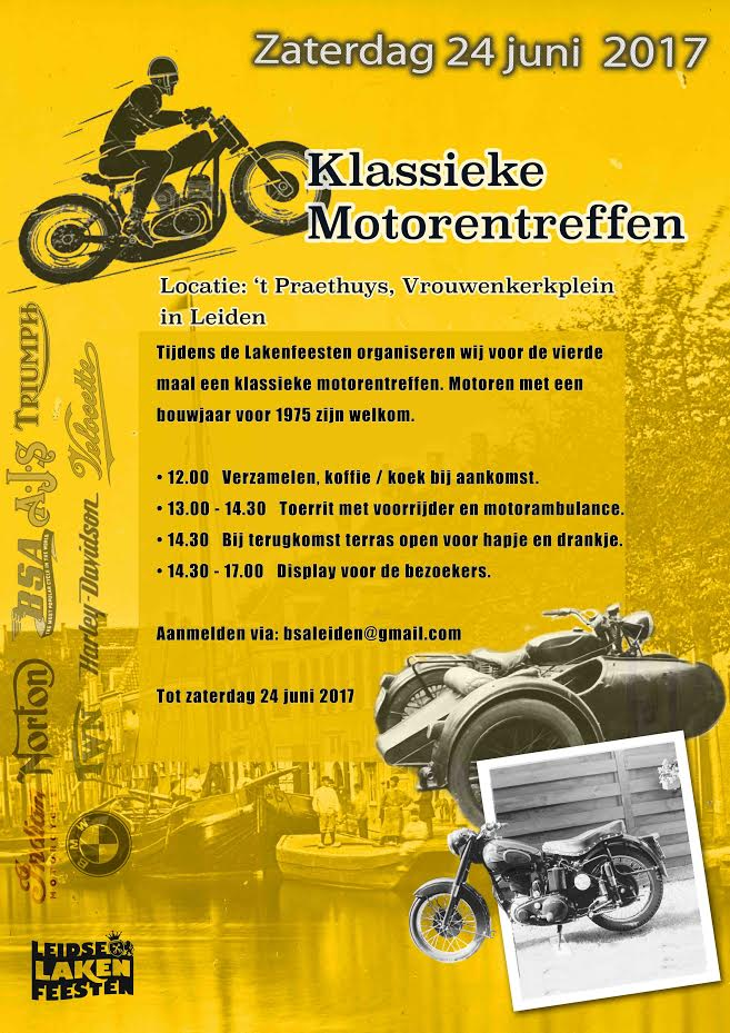 Klassieke Motorentreffen Leiden