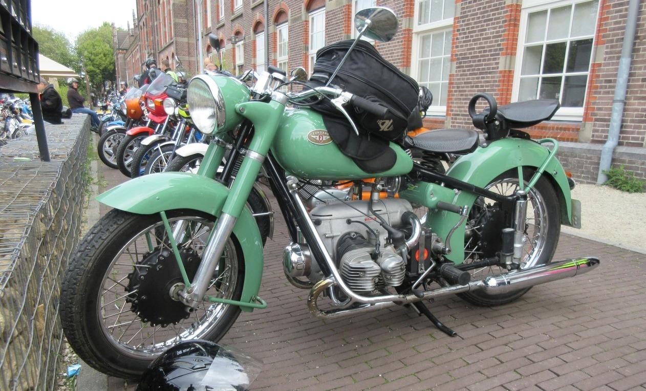 KS 601 in Nijmegen tijdens de Bramenrit