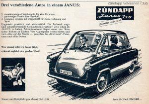 Zündapp Janus Zündapp Veteranen Club