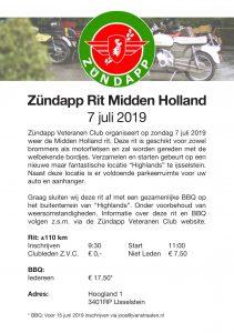 Midden Holland rit 2019