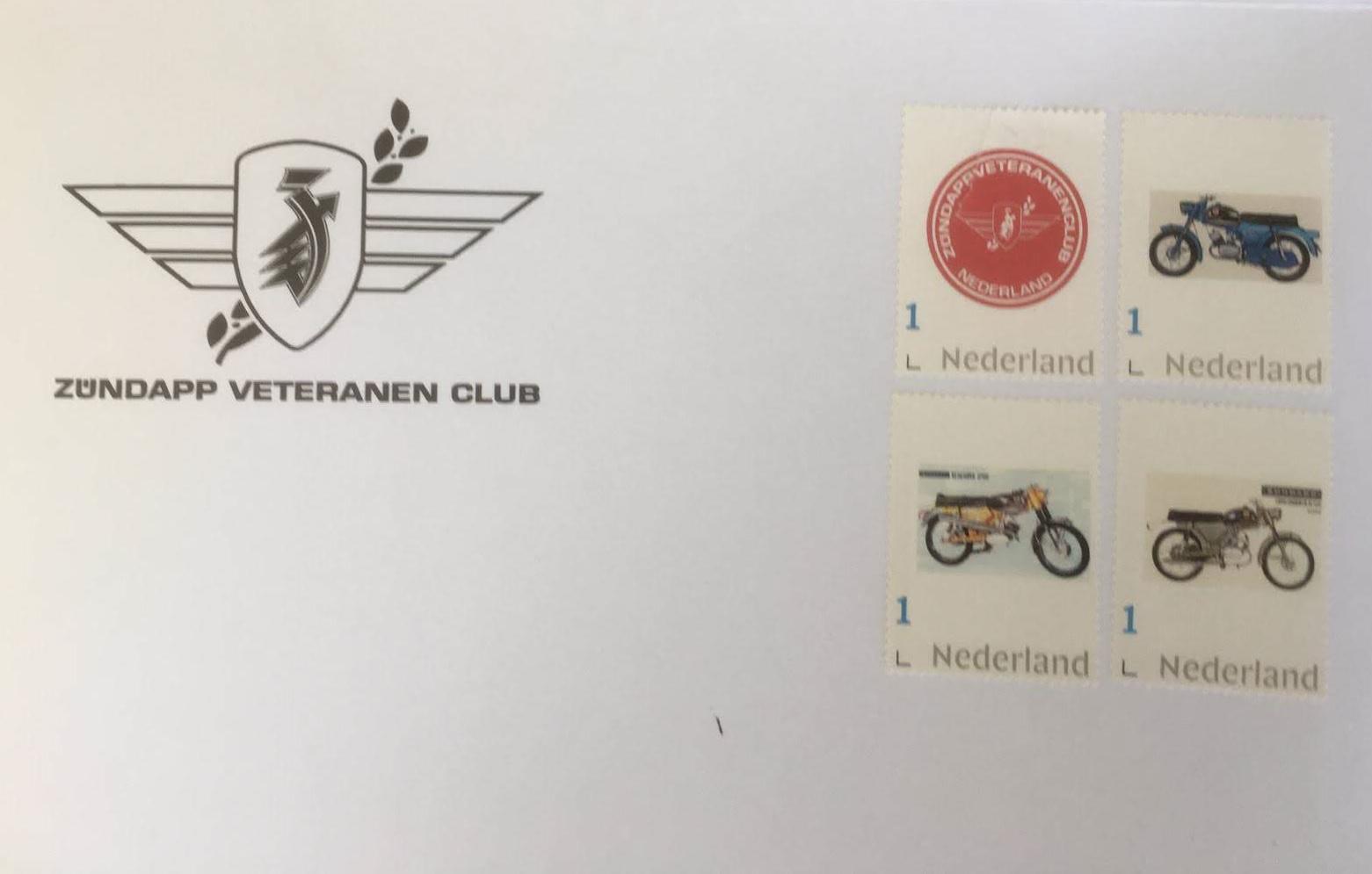 Zundapp Veteranen Club postzegels