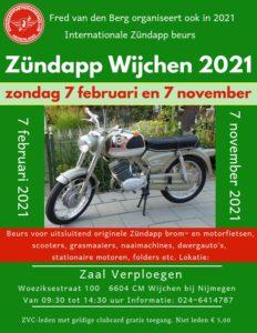 Zündapp beurs in Wijchen 2021