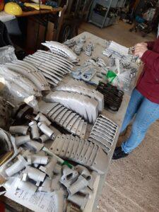 Jean Davids3-D parts en aluminium productie